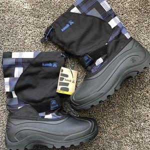 NEW! Black Kamik Snow Boots